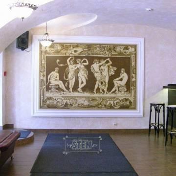 Античная роспись • отделка ниши в стене