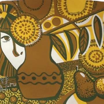 Декоративный натюрмрот • абстракция на стену