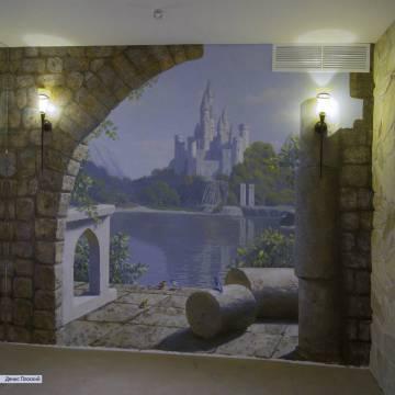 Роспись стен акрилом - ПОЧЕМУ акриловые краски + ВИДЕО