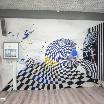 Роспись стен СПб | танцевальный зал