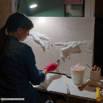 Панно на стену в спальню / Руки-базуки
